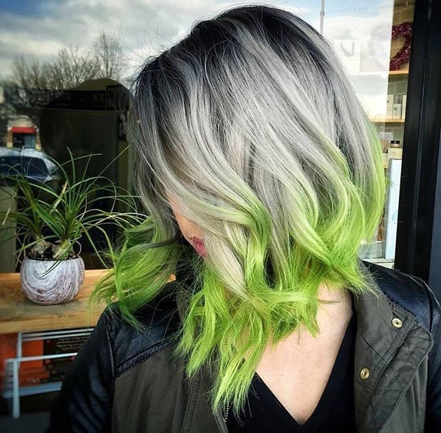 witch, hairstyle, aesthetic and green