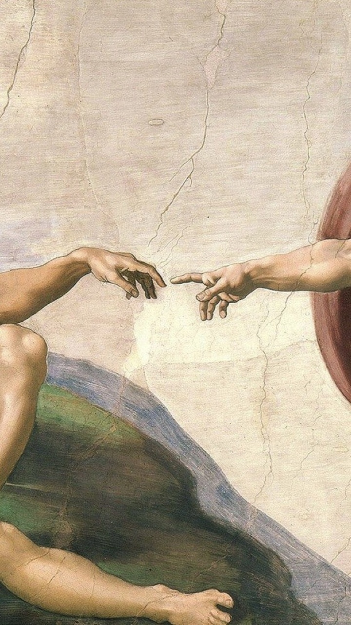 lockscreen, renaissance, michaelangelo and wallpaper