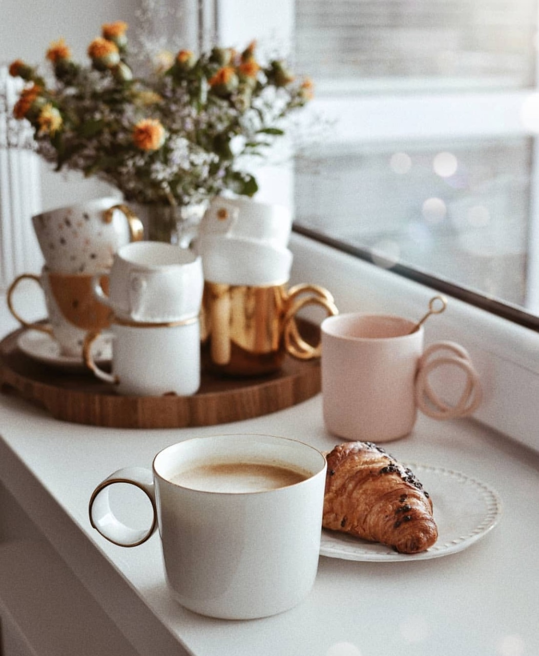 coffee and breakfast