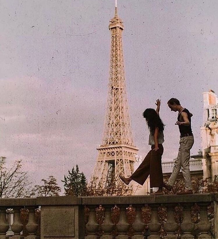 couple, photography, eiffel tower and Relationship