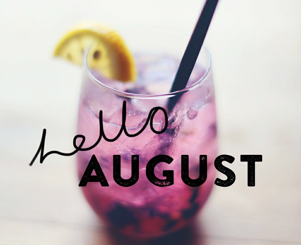 drink, hello august, cocktail and summer