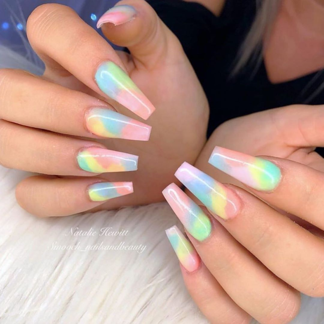 colors, style, fake nails and instagram