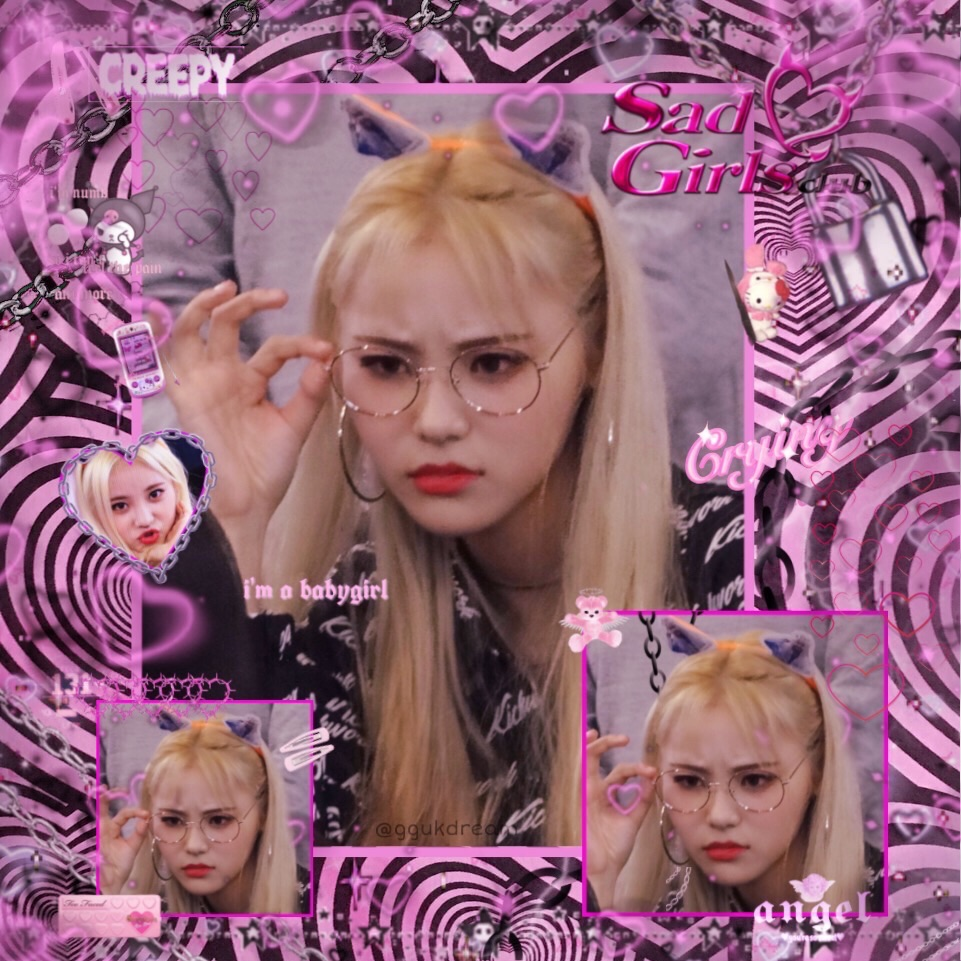 aesthetic, angelcore, loona and cybergoth
