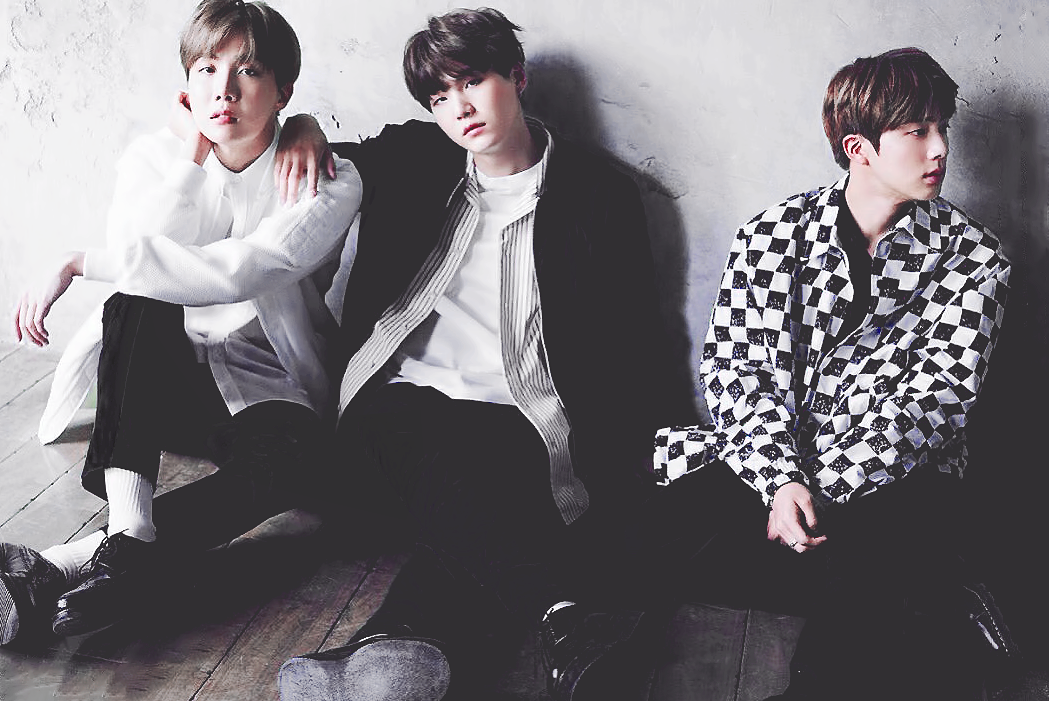 jin, rm, beyond the scene and bts