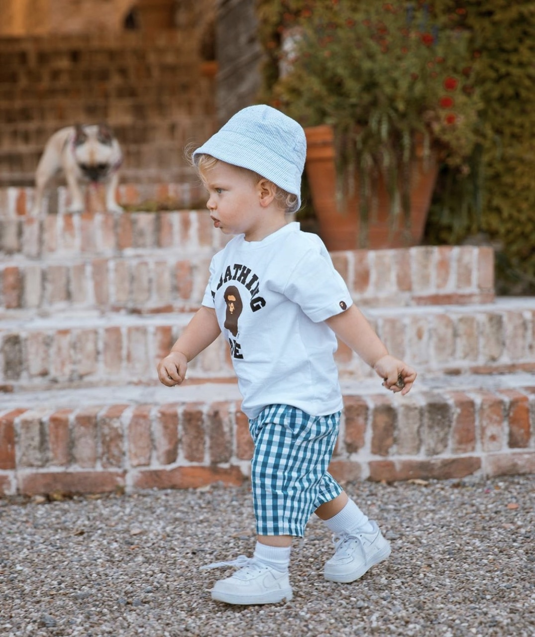 adorable, baby, walk and summertime