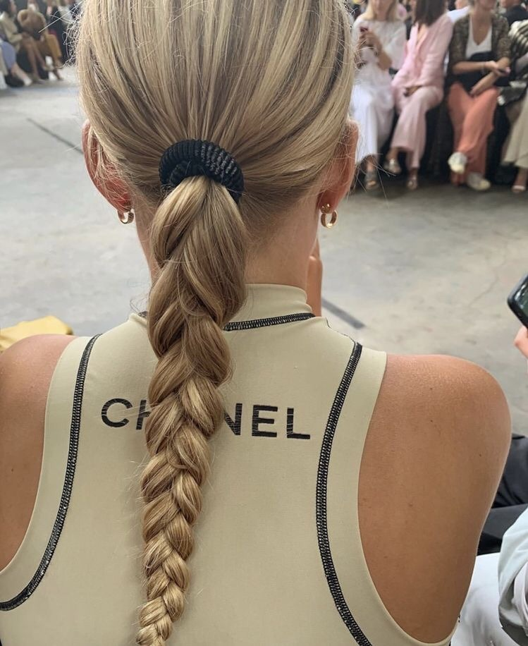 braid, chanel, inspiration and blonde