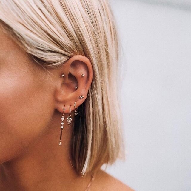 jewelry, silver, blonde and jewellery