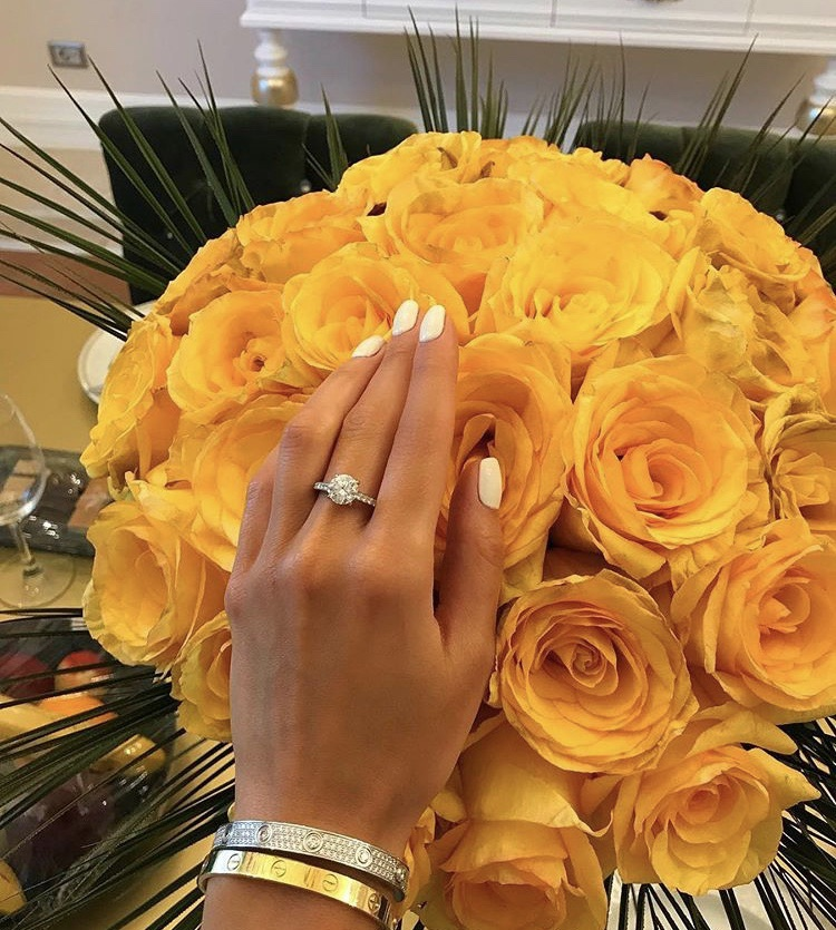flowers, rings, roses and girls