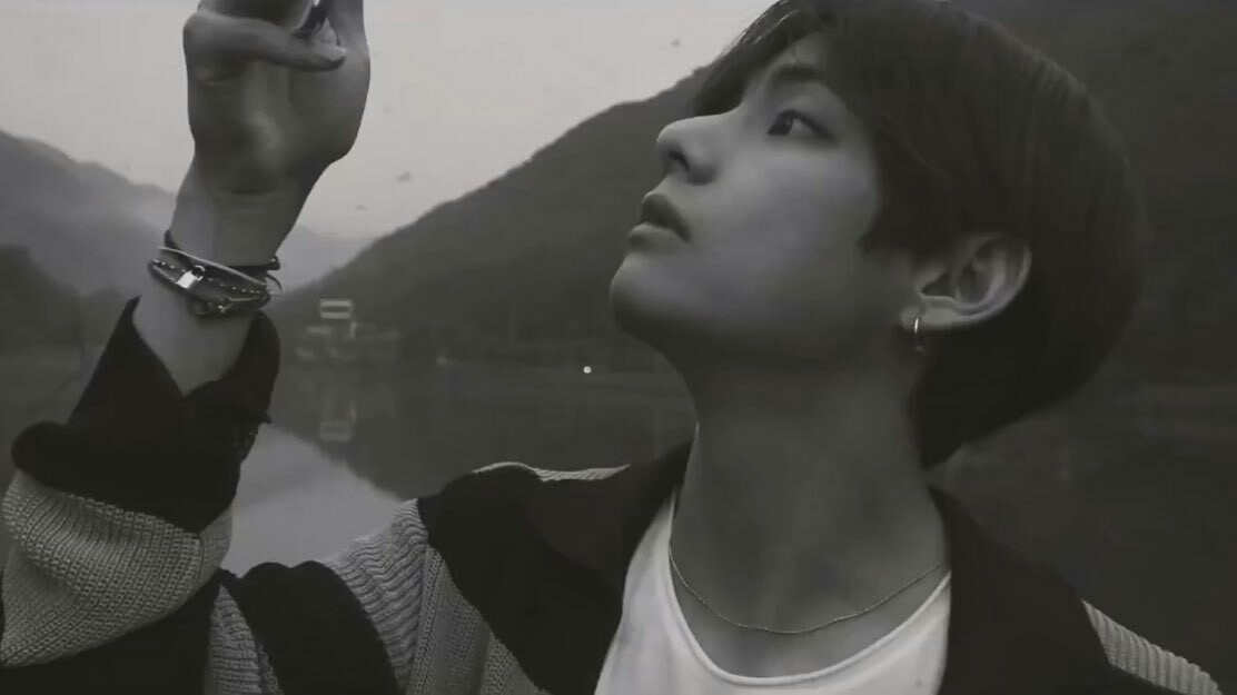 taehyung, icon, details and black and white