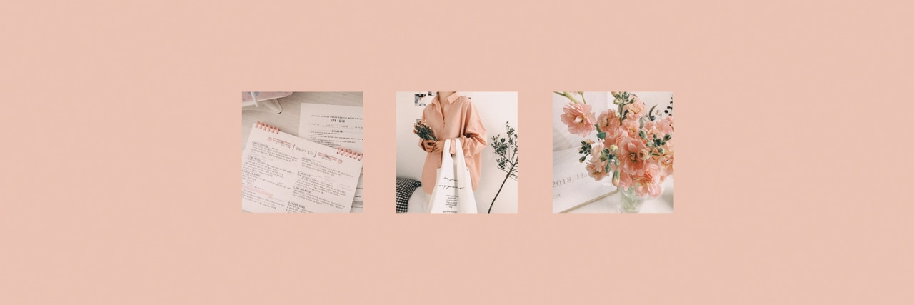 pink, aesthetic, layout and twitter