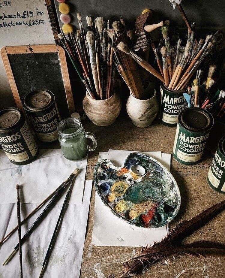 painting, art, beauty and artistic