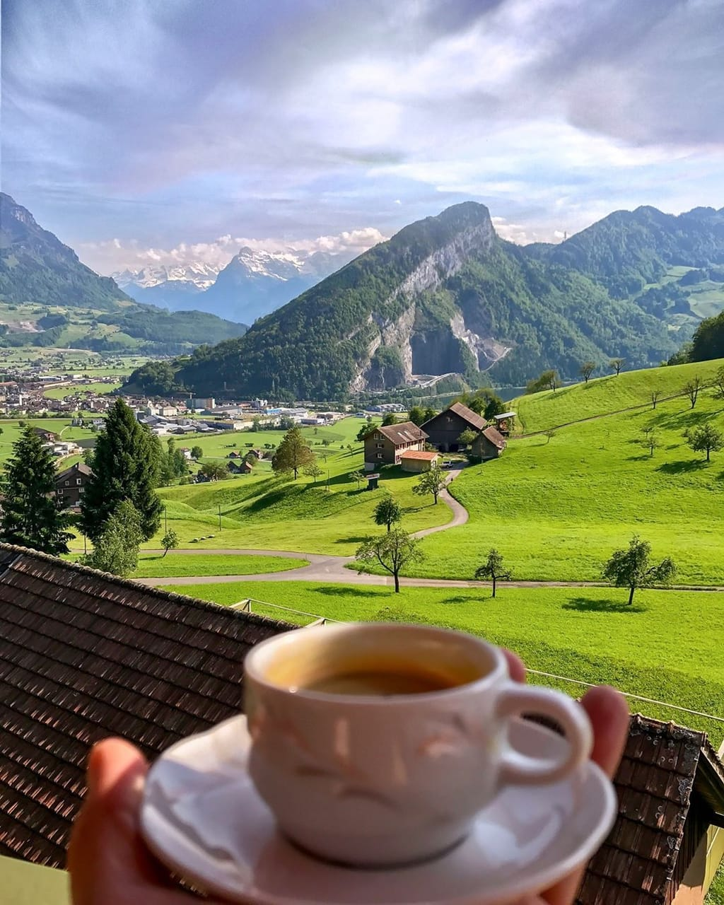 nature, view, europe and mountains