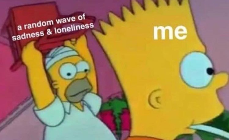 sadness, loneliness, sad and lonely